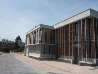façade sur place