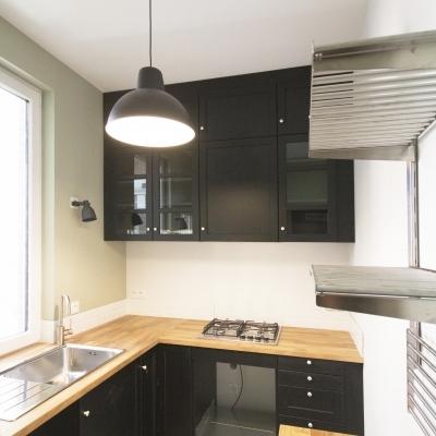 Projet d'une cuisine compacte