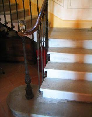 Escalier  Pierre rénové