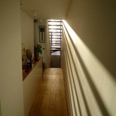 Enfilade escalier