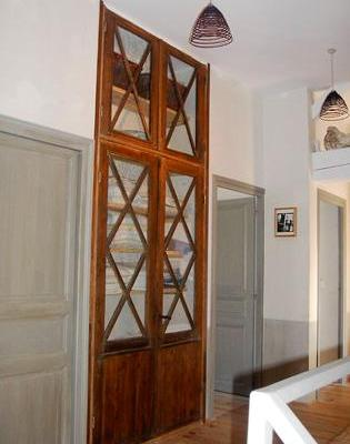 Récupération de portes vitrées XVIIIè