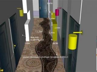 Moquette des couloirs