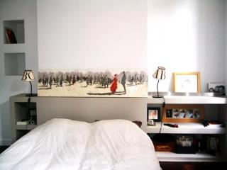Tête de lit bâtie