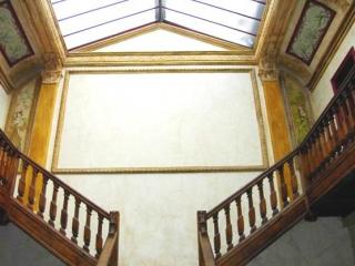 L'escalier à double volées