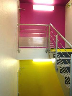 Charte colorée - indicatif d'étage