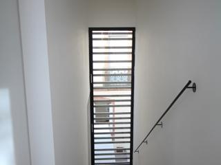 la cage d'escalier interieure