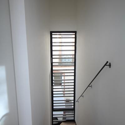 Vue de la  cage d'escalier interieure