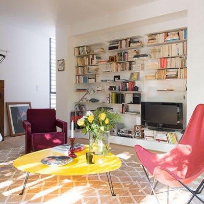 Le meuble bibliothèque
