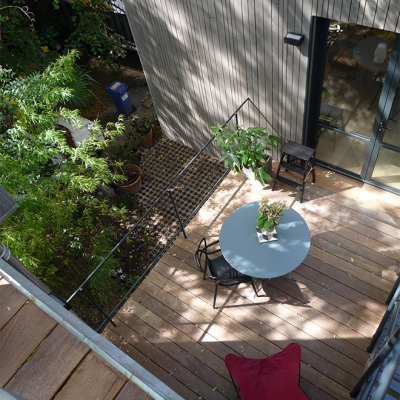 Terrasse niveau 1